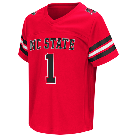 NC State Wolfpack Toddler Red Hail Mary II Football Jersey