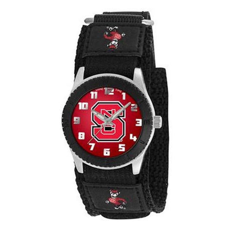 NC State Wolfpack Black Rookie Series Watch