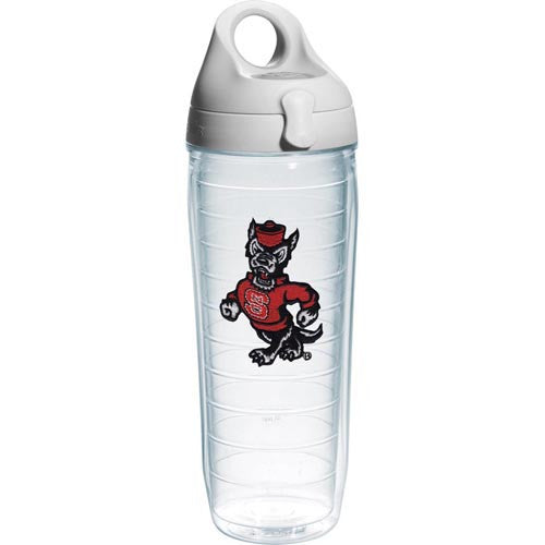 NC State Wolfpack Strutting Wolf Tervis 24oz Water Bottle