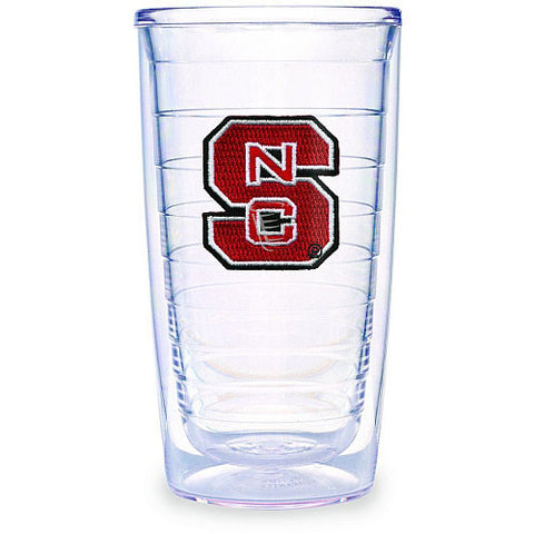 North Carolina State Wolfpack 16oz Block S Tervis Tumblers