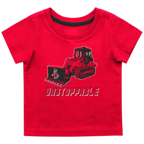 NC State Wolfpack Infant Boy's Red Gravel Pit T-Shirt