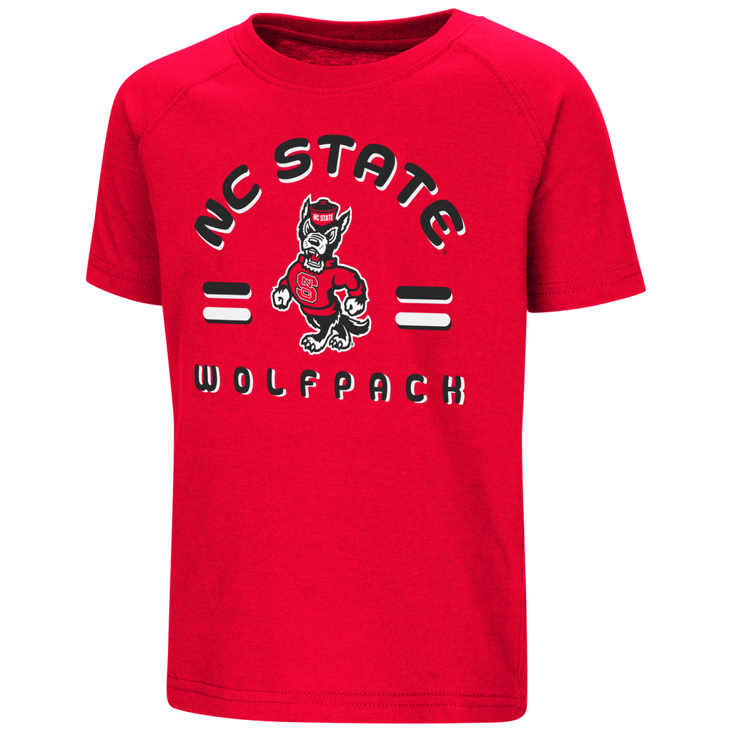 NC State Wolfpack Red Toddler Cowboy T-Shirt