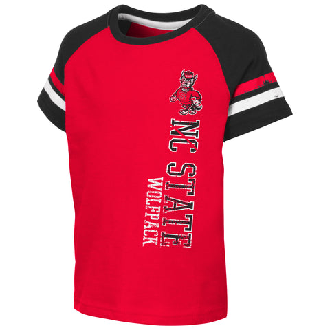e3ebb84db NC State Wolfpack Toddler Boy's Red Edmonton T-Shirt