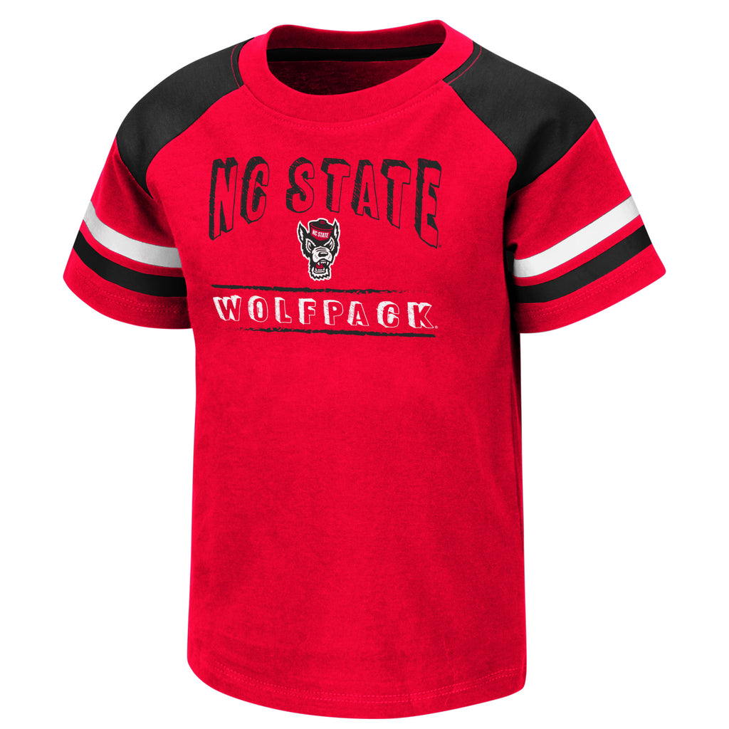 NC State Wolfpack Toddler Boy's Red Fred T-Shirt