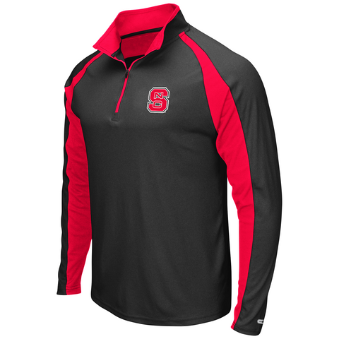 NC State Wolfpack Heathered Grey J Peterman Windshirt