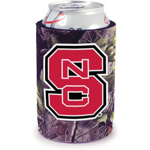 NC State Wolfpack Realtree Camo Can Cooler