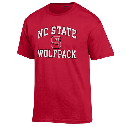 NC State Wolfpack Champion Red Block S T-Shirt