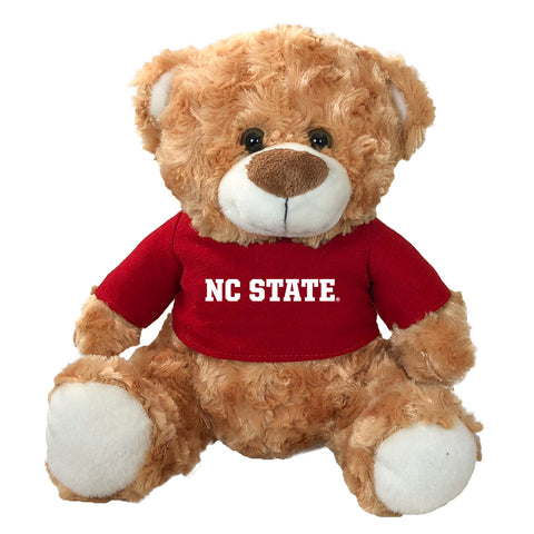 "NC State Wolfpack 10"" Fred The Bear with T-shirt"