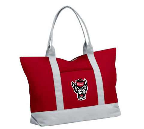 NC State Wolfpack Red Wolfhead Cooler Tote