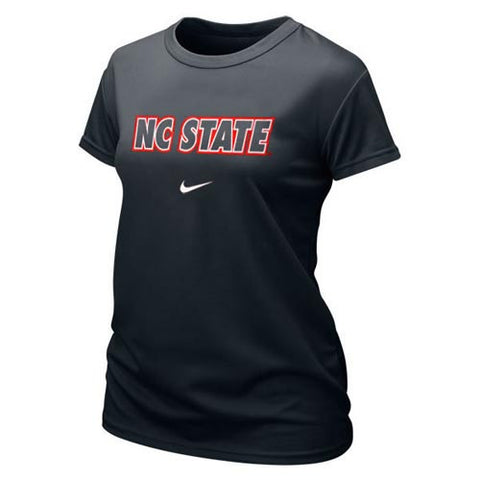 NC State Wolfpack Women's Black Nike® Dri-FIT T-Shirt