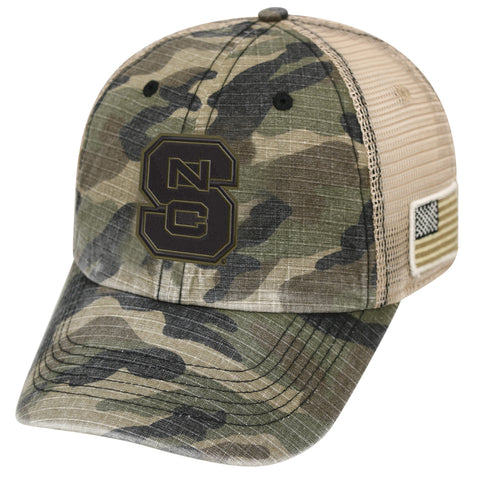 NC State Wolfpack TOW Declare Two-Tone Adjustable Hat