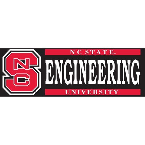 NC State Wolfpack Engineering Vinyl Decal