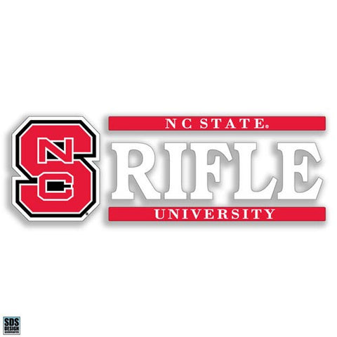 NC State Wolfpack Rifle Vinyl Decal