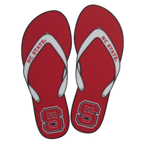 Nc State Wolfpack Flip Flop Vinyl Decal Red And White Shop