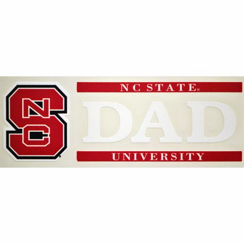 NC State Wolfpack Dad Decal