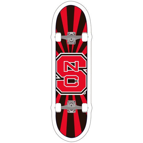 NC State Wolfpack Skateboard Decal