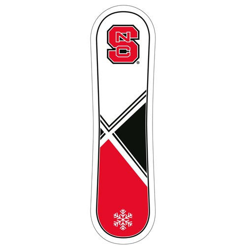 NC State Wolfpack Snowboard Decal