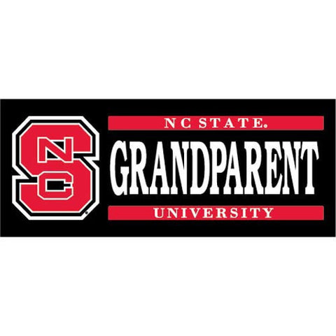 NC State Wolfpack Grandparent Decal