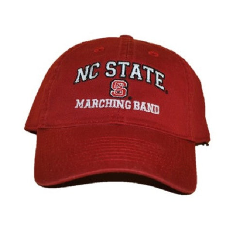 NC State Wolfpack Marching Band Red Relaxed Fit Adjustable Hat