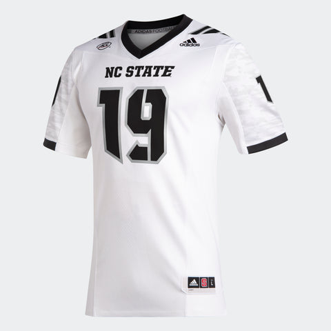 NC State Wolfpack Adidas White Stealth Wolf Special Edition Replica Jersey