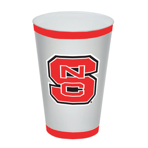 NC State Wolfpack 16 oz. Block S Frost Flex Tumbler (PACK OF 8)