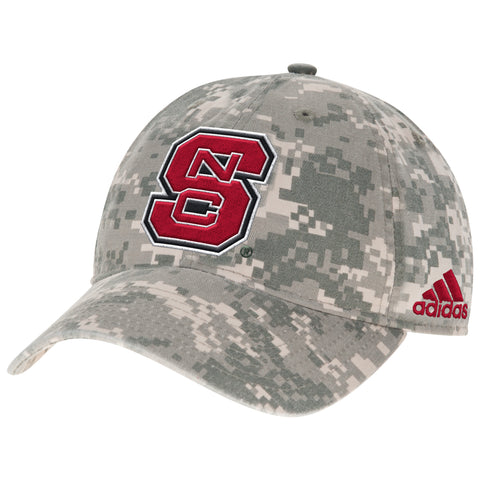 NC State Wolfpack Adidas Digital Camo Adjustable Slouch Hat