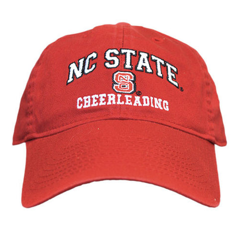 NC State Wolfpack Cheerleading Red Relaxed Fit Adjustable Hat