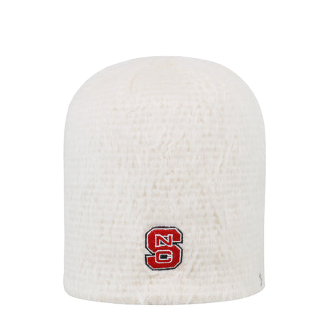 NC State Wolfpack TOW Youth Creme Fluff Knit Hat