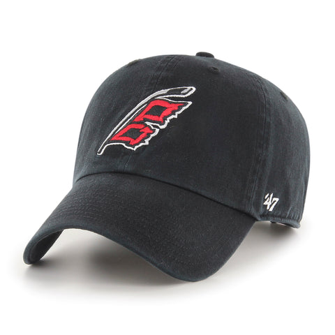 Carolina Hurricanes 47 Brand Black Clean Up Adjustable Hat