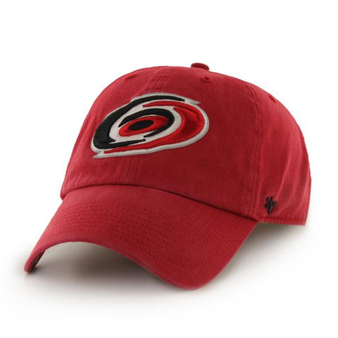 Carolina Hurricanes 47 Brand Red Clean Up Adjustable Hat