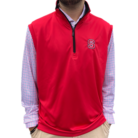 NC State Wolfpack Red Block S Performance Vest