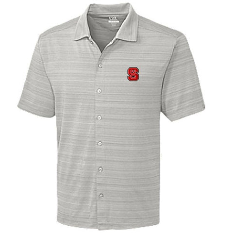 NC State Wolfpack C&B DryTec Highland Park Button Down Shirt