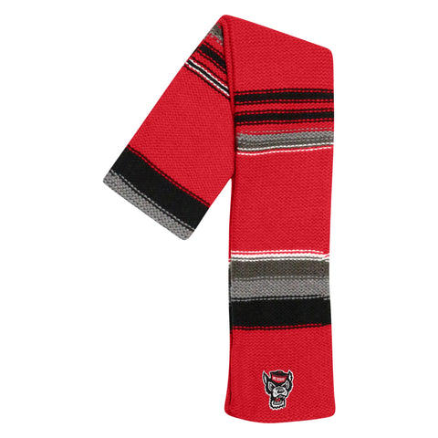 NC State Wolfpack TOW Multi Colored Iced Scarf