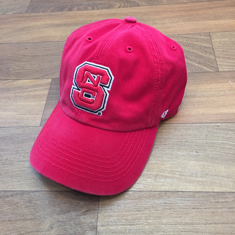NC State Wolfpack 47 Brand All Red Block S Franchise Fitted Hat