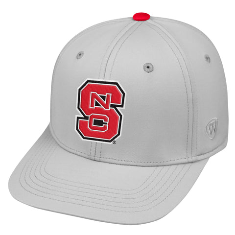 NC State Wolfpack TOW Light Grey Impact One Fit Hat