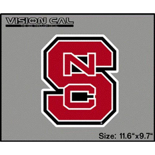 "NC State Wolfpack 12"" Block S Vision Cal"