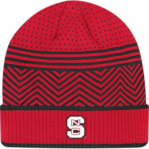NC State Wolfpack adidas® Red Tonal Women's Cuffed Knit Hat