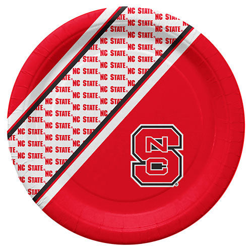 NC State Wolfpack Disposable Party Plates