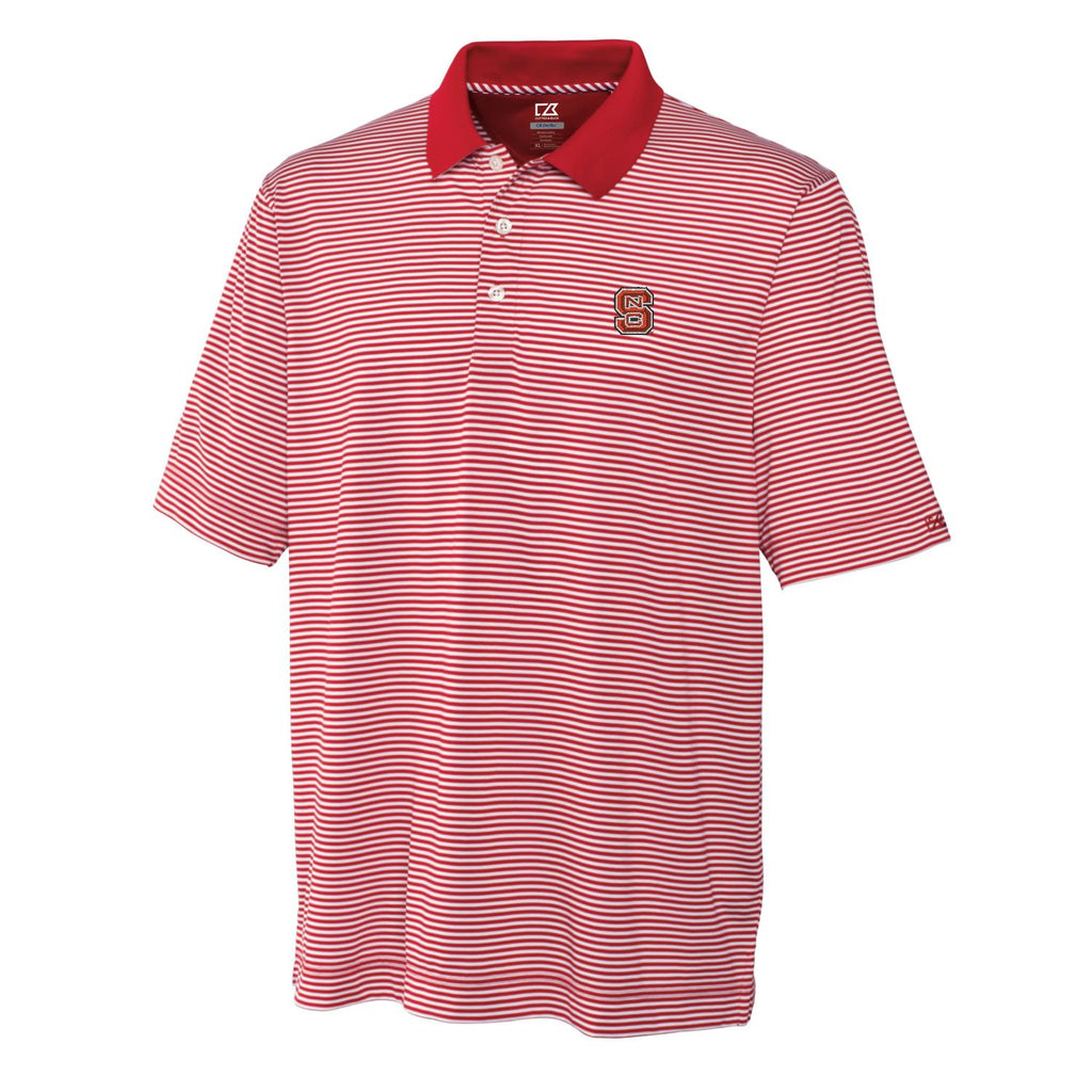 NC State Wolfpack Cutter & Buck® Striped Trevor Polo