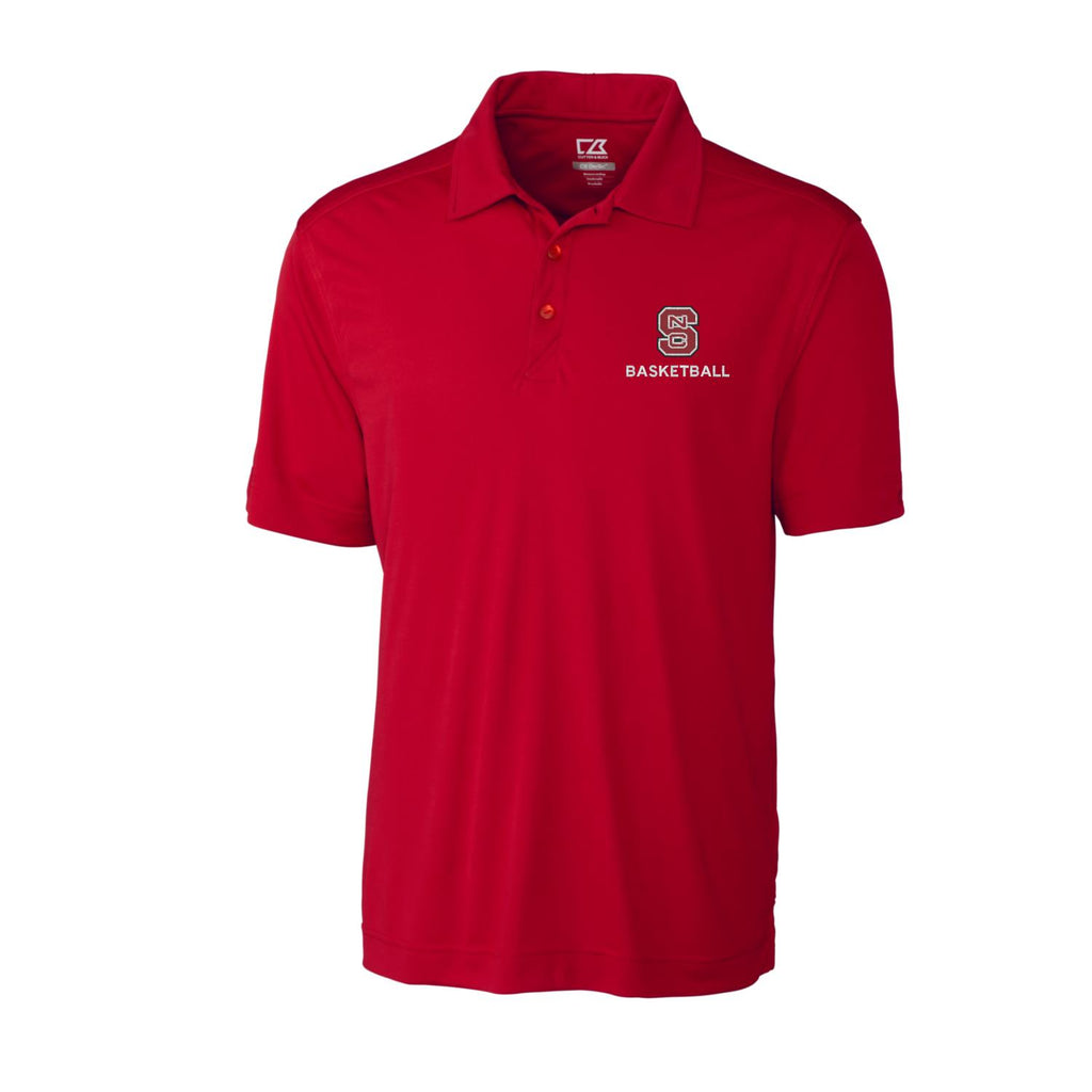 NC State Wolfpack Cutter & Buck Red Northgate Basketball Polo