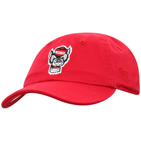 NC State Wolfpack TOW Toddler Red Wolfhead Mini Me Adjustable Hat