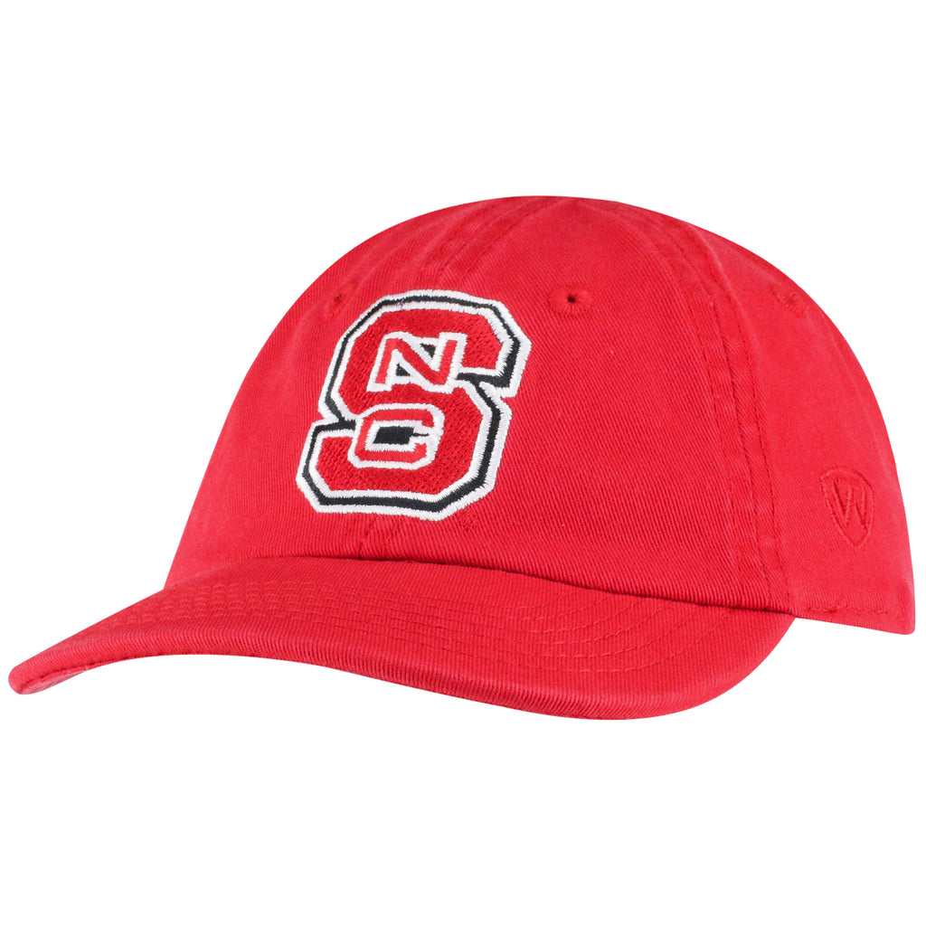 NC State Wolfpack TOW Infant Red Block S Mini Me Adjustable Hat