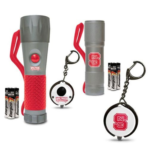 NC State Wolfpack LED Flashlight Multipack