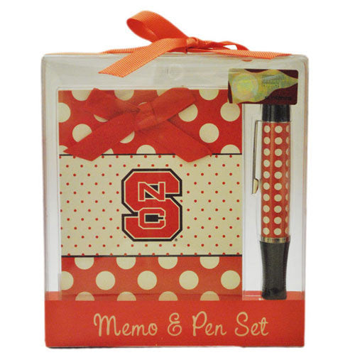NC State Wolfpack Memo & Pen Set