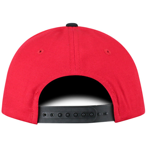 NC State Wolfpack TOW Youth Two-Tone Maverick Wolfhead Adjustable Hat