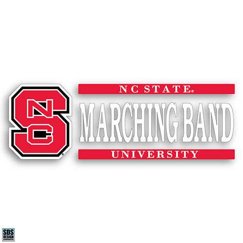 NC State Wolfpack Marching Band Vinyl Decal