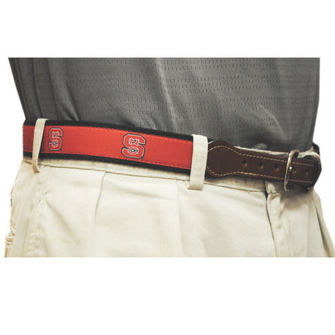 NC State Wolfpack Red Web Belt
