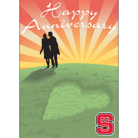 NC State Wolfpack Anniversary Card