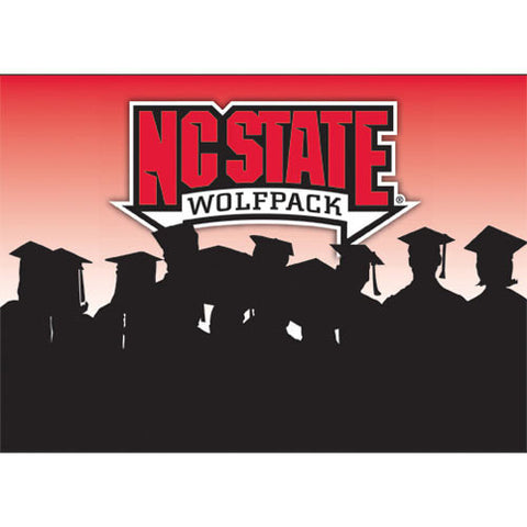 NC State Wolfpack Graduation Card Cap & Gown