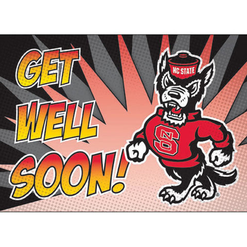 NC State Wolfpack Get Well Soon Card